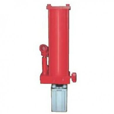 Pneumatinė / hidraulinė pompa 20t su žarna