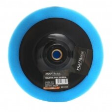 Polishing sponge 150mm 26kg / m3 (blue)
