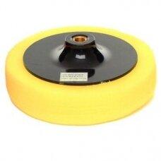 Polishing sponge 150mm 30kg / m3 (yellow)