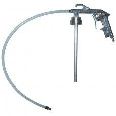 Under coating gun with hose