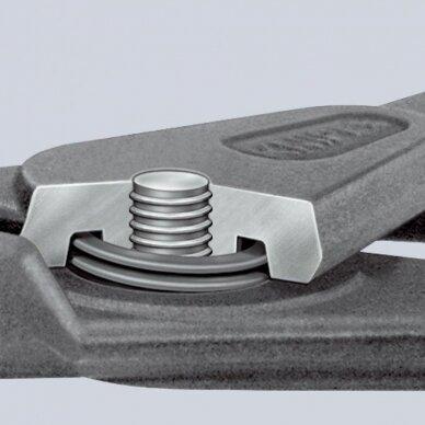 Replės išoriniams žiedams. Lenktos 165mm (Ø19-60mm) KNIPEX 4