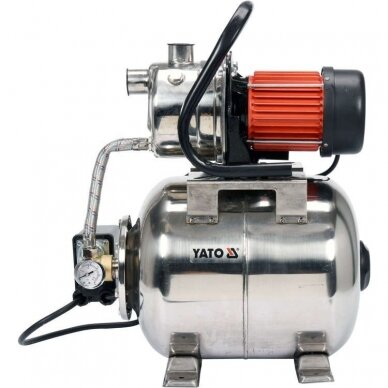 Siurblys 1200W su 19l hidroforu (INOX) 2