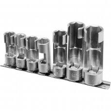 Slotted special socket set 7pcs (10-19mm)