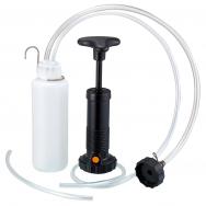 Stabdžių sistemos nuorinimo įrankis su pompa