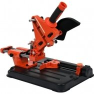 Angle grinder stand 115/125mm with feeder/angle cutting function