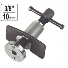 Disc brake piston wind-back tool
