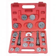 Brake piston wind-back tool set 21 pcs.