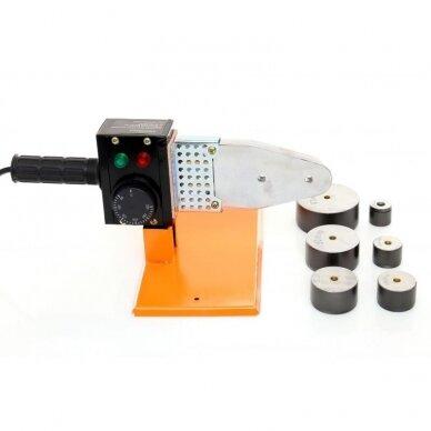 Suvirinimo aparatas termoplasto vamzdžiams (PVC) 1200W 2