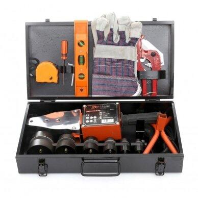 Suvirinimo aparatas termoplasto vamzdžiams (PVC) 2900W 2