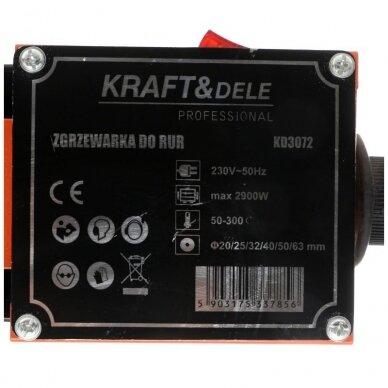 Suvirinimo aparatas termoplasto vamzdžiams (PVC) 2900W 6