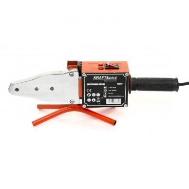 Suvirinimo aparatas termoplasto vamzdžiams (PVC) 2900W 3