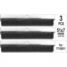 Šveitimo antgaliai (3vnt) honingavimo įrankiui 32-89mm YT-05811