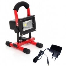 COB(10W) rechargeable flood light