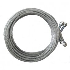Steel rope (2pcs) for PL-4.0-2B. Spare part
