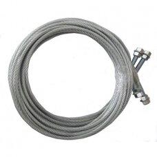 Steel rope (2pcs) for QJY4.0-D/QJY3.0-D. Spare part