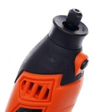 Universalus šlifuoklis lanksčiu velenu su priedais (218vnt) 270W 8