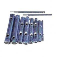 Tubular box wrench set 10pcs.