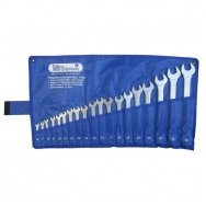 Combination ring and open end spanner set 19pcs. (6-32)