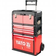 Trolley tool box mad up of 3 parts